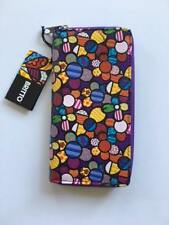 Romero Britto Wristlet clutch wallet and coin Pouch : FLOWERS