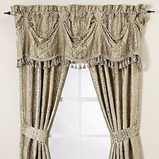 "J. Queen New York Medici Tassel Trimmed Federal Valance 80"" x 16"""