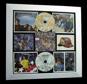 STONE ROSES+1st+Debut+LTD+GALLERY QUALITY FRAMED+EXPRESS GLOBAL SHIP+Not Signed