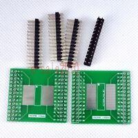 2pcs NEW TSOP56 TSOP48 SMD to DIP Adapter PCB Board Converter Double Sides E13