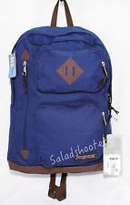 JanSport Houston School Student Laptop Backpack Navy Moonshine New with Tags