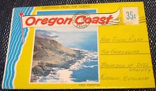 United States Oregon Coast Postcard set - posted 1973