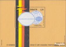 Brasilien Block35 (kompl.Ausg.) postfrisch 1974 Weltkongreß für Blindenfürsorge