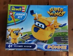 REVELL Models Junior plane Kit 71 parts NEW Super Wings DONNIE  00871  Age 4+