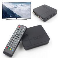 1080P Digital Satellite Receiver HDMI DVB-T2 TV Box VGA/AV Tuner Combo Converter