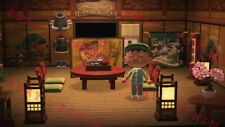 Animal Crossing New Horizons Japanese/Chinese Living Room Furniture Set Samurai