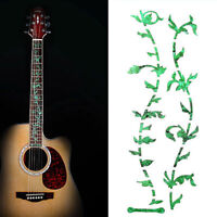 DIY Tree Of Life Guitar Bass Fretboard Marker Inlay Sticker Green Color Decal