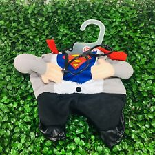 New Petco Superman Illusion Dog Suit Costume DC Justice League Sz XS Extra Small
