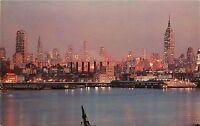 NEW YORK CITY SKYLINE EMPIRE STATE BUILDING NEW YORK NY POSTCARD