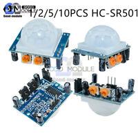 1/2/5/10PCS HC-SR501 Infrared PIR Motion Sensor Detector Module for Raspberry pi