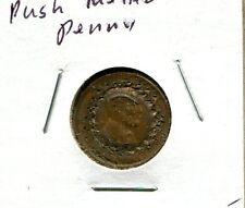 Push Metal Wheat Penny US Small Cent Coin