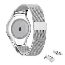 Stainless Steel Watch Band+ Connector for Samsung Galaxy Gear S2 SM-R720&R730 US