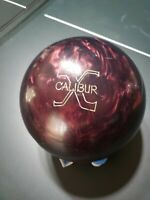 EXTREMELY RARE 16 lb. Nu-Line Excalibur bowling ball 15lb 11oz.  Xcalibur 1992