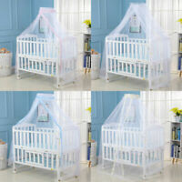 Baby Kids Bed Mosquito Net Mesh Dome Curtain Net for Toddler Crib Cot Canopy