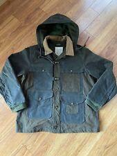 Nigel Cabourn FILSON Collaboration Work Cape Jacket Blouson Coat Men's Sz XL