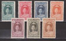 Nederlands Indie 160-166 MNH PF Wilhelmina 1923 Netherlands Indies