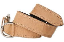 Woodland® Hundehalsband aus Leder für Hunde mit 45-55 cm Halsumfang in Hellbraun