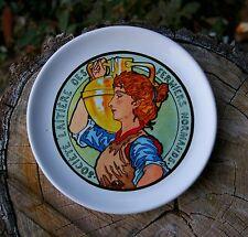 Societe Laitiere Des Fermiers Normands Cheese Plate Dish Milk Maid