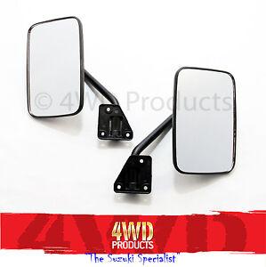 Door Mirror SET - Suzuki Sierra 1.0/1.3 Drover 1.3 (81-86) 'Narrow Track'