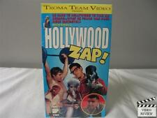 Hollywood Zap VHS Ben Frank, Ivan E. Roth, De Waldron; David Cohen; Troma