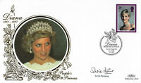 1998 PRINCESS DIANA SIGNED CEO LIGHTHOUSE AIDS FOUNDATION FIRST DAY COVER SHS