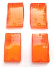 Vespa PK 50 125 SS S Blinker Blinkergläser gelb Glas 4 Stück Neu