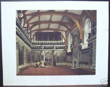 "W. H. Pyne: ""Old Guard Chamber, Round Tower, Windsor"""