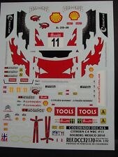 DECALS 1/32 CITROËN C4 WRC - #11- SOLBERG - RALLYE MEXICO 2010 - COLORADO  32170