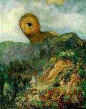 ODILON REDON Cyclops stampa in A4