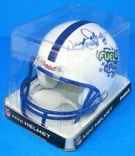 "DARYL ""MOOSE"" JOHNSTON #48 Signed Fuel UpToPlay60 NFL Mini Helmet Dallas Cowboys"