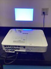 Epson powerlite 2250U LCD Projector 110 Lamp Hours HDMI Capabilities