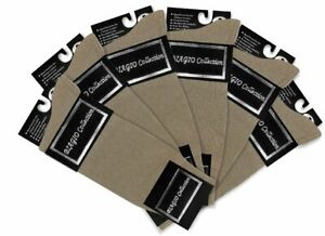 6 Pair of Biagio Solid TAUPE LIGHT BROWN Color Mens COTTON Dress SOCKS