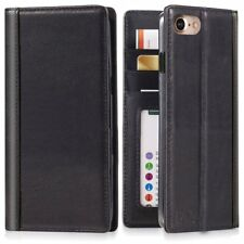 Apple iPhone 7 Plus  iPhone 8 Real Leather Phone Wallet Cove ID cards slots