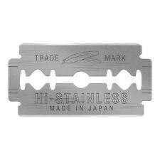 50x Feather Hi-stainless Double Edge Safety Razor Blades Suit Merkur Muhle