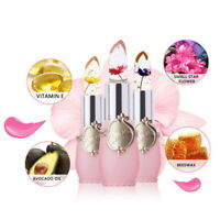 UK Women Crystal Jelly Lipstick Flower Magic Temperature Changing Color Lip Balm