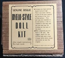 Vintage Shackman Byelo Style Genuine Bisque Doll Kit