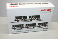 Märklin 46356 Muldenkippwagen - Set Ommi51 Epoche III Spur H0 OVP