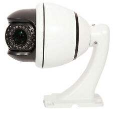 10x Zoom  1200TVL HD PTZ Dome IR Home CCTV Camera Auto Sync IR-Cut System PAL