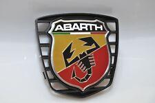 Nuevo Genuino Emblema Fiat 500 Abarth Cromo Mate insignia con el logotipo-Satíne Trasero Fiat OEM