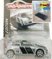 Majorette Volkswagen VW Golf GTI Racing no.15 ZAMAC 1/64 264C Free Display Box