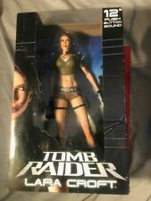 NECA Tomb Raider LARA CROFT 12 inch PUSH BUTTON SOUND Figure