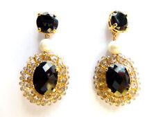 Ovaler Mode-Ohrschmuck mit Perle für Damen