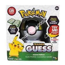 Pokemon Trainer Guess: Hoenn Edition Electronic Guessing Game RARE!! FREE SHIP