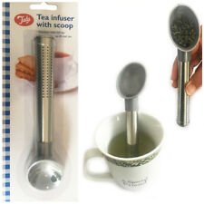 Tube TEA Infuser Stick TALA Scoop Loose Tea Strainer Filter New Stainless Spoon