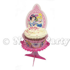 Amscan 4-piece Princess Cup Cake Stands Party Accessory