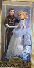 CENDRILLON & PRINCE Charmant Poupée Edition Limitée Disney FAIRYTALE Collection