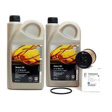 OPEL GM 5w-30 DEXOS 2 LongLife Olio Motore 4 LITRI + FILTRO OLIO ORIGINALE NUOVO 650190