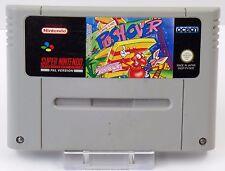 Super Nintendo SNES Spiel - This Game is no Push-Over Pushover