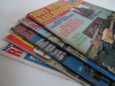 Mixed lot Model Railroading ~ Railroad Modeler Magazines toy trains railroads