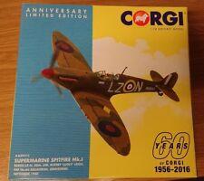Corgi AA39211 Spitfire MkI Rupert Lucky Leigh Sept 1944 Ltd Edition 0076 of 3000